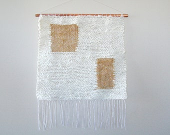 terrace - woven wall hanging