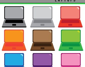 Laptop Clipart, Notebook Computer Clipart, PNG