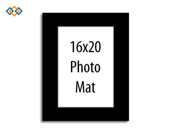 Custom 16x20 Mat White Core Rectangle Photo Mats