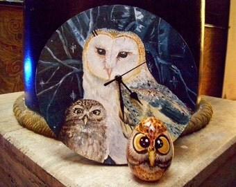 Watch barn owls and OWL