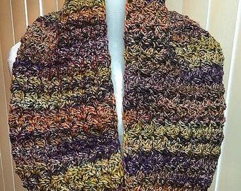Crochet Cowl, Crochet Scarf, Cowl Scarf, Purple Scarf, Handmade Cowl, Infinity Scarf, Crochet Cowl Scarf, Circle Scarf, Infinity Cowl, Cowl