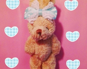 Dolly Bunny Blue Hair Clip