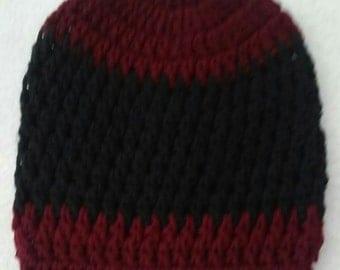 Crochet Beanie Hats / 6-10Years