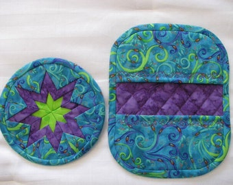 Pot Holder and Trivit Set