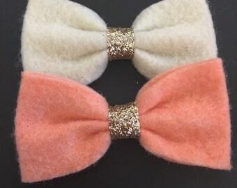 Felt mini bows