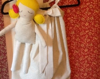 Sweet Pillow Case Dress with Matcging Sunshine Doll