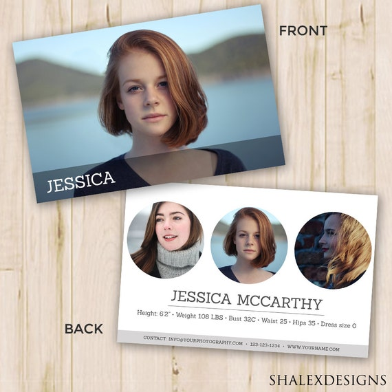 Modeling comp card modeling comp card template photoshop for Free model comp card template psd