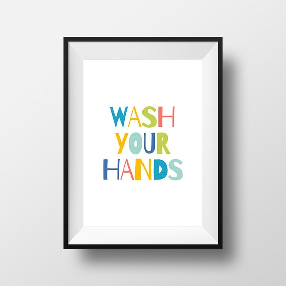 Bathroom wall decor  Etsy  Etsycom  Shop for anything