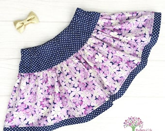 Floral Twirly Skirt