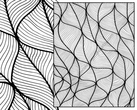 anic zentangle coloring sheet instant coloring pdf modern