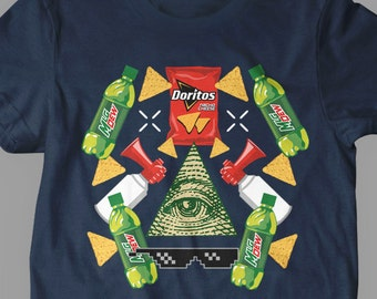 New MLG Game Of The Year Blaze it 420 Video Game Illuminati Womens T-Shirt Jersey Mens T-Shirt and Ladies Unisex Adult Sizes