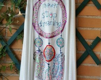Atrapasueños Never stop dreaming