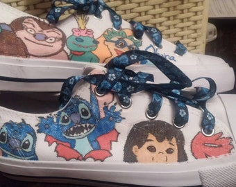 Custom character sneakers (Disney, others)
