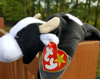 Ty Beanie Baby - DAISY, Collectibles, Retired, Beanie Babies, Original Cow