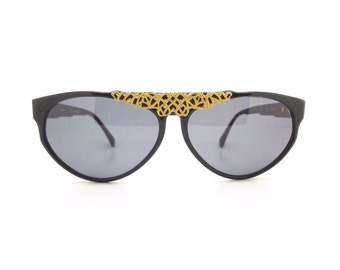 Genuine Vintage 1980s Persol by Emanuel Ungaro Sunglasses // New Old Stock