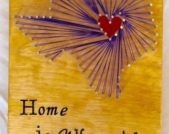 """Custom """"Home is Where the Heart Is"""" State"""