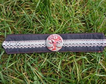Red tree of life bracelet