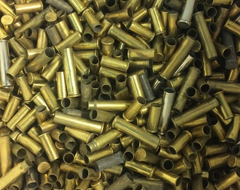 22 Rimfire Brass bullet casings, Ideal for crafts and projects!