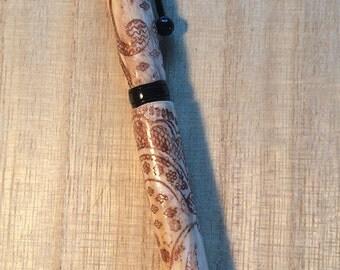 Lace Imprinted Pen