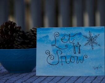 Let It Snow Card Art 1126