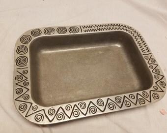 Wilton Armetale raggae fancy tray
