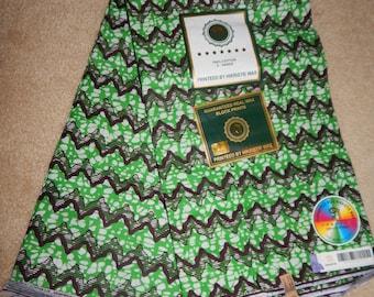 Green Angola Fabric