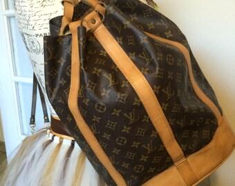 Vintage 1981 Louis Vuitton Randonnee GM Backpack