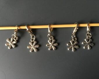 Daisy Crochet Stitch Marker