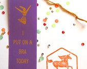 I Put On A Bra Toady  - Adult Award Ribbons