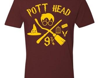 POTT Head Tshirt   Harry Potter
