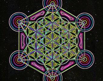 Metatron's Flower - in space