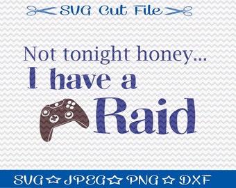 Gamer SVG File / SVG Cutting File for Silhouette / Video Game svg/ World of Warcraft svg / Diablo svg / Battlefield svg / Halo svg