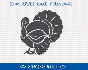 Turkey SVG Cut File / SVG Download / Silhouette Cameo / Digital Download / Thanksgiving SVG / Fall svg / Thanksgiving Turkey svg