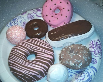 Fake/Artificial Donuts... Set of 7...