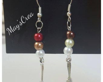 "Earrings ""Gourmand"""