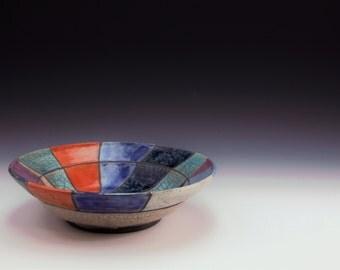 Raku Bowl -By Sally Giarratana