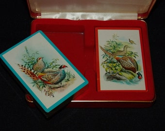 Vintage Playing cards ~ NEW is case