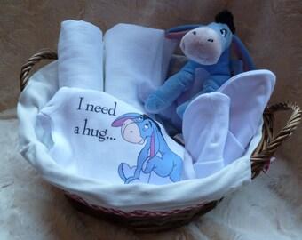 Eeyore  baby basket hamper