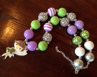 Tinkerbell Girls Beaded Necklace