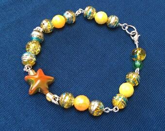 Star and sunshine bracelet