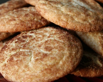 The classic Snickerdoodle cookie