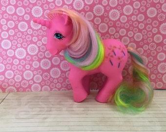 Vintage My Little Pony G1 Rainbow Pinwheel! Rare!