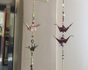 Beautiful hanging birds