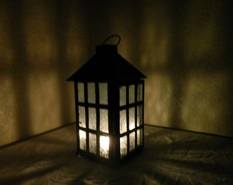 Frosted Lantern
