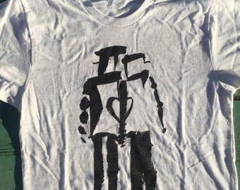 Robot Love - White t-shirt