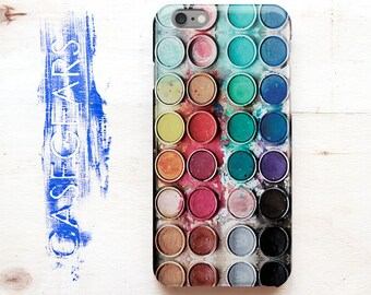 iPhone 5s Case Watercolor iPhone 5c Case Watercolor painting iPhone 6 Case iPhone 4 Case Watercolor set Phone 4s Case iPhone 6s Case CGP0027