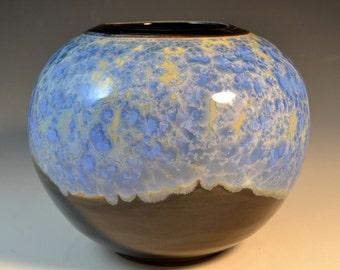 Spherical Crystalline Vase