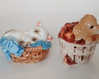 Vintage Cat and Dog Potpourri