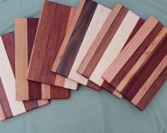 Handmade reclaimed wood cutting board/cheese board
