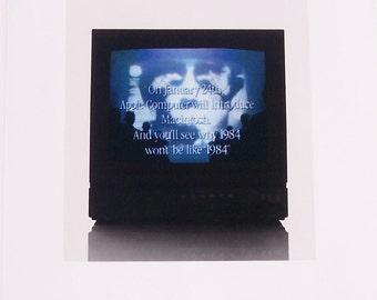 Apple 1984 Annual Report Steve Jobs Macintosh Vintage Rare Chiat/Day Brochure